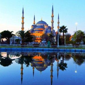 Голубая мечеть султана Ахмета