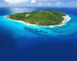 Остров Праслен на фото