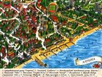 карта города Алустон