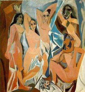 Пабло Пикассо. Авиньонские девушки