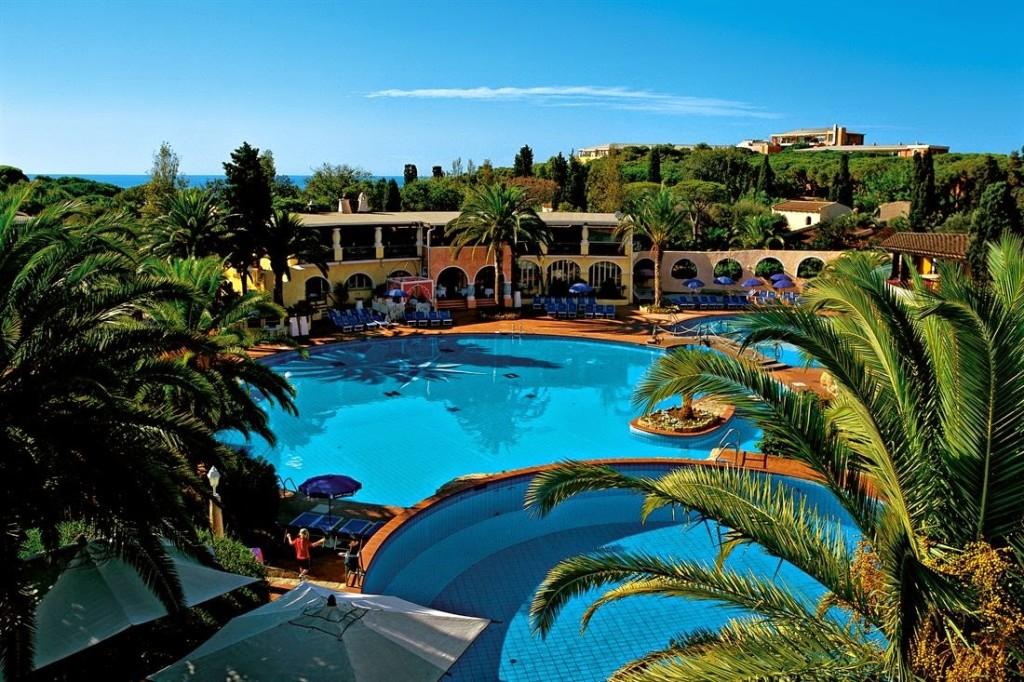 Остров Сардиния вид на отель