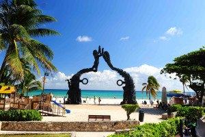 Мексика Пляж Канкун