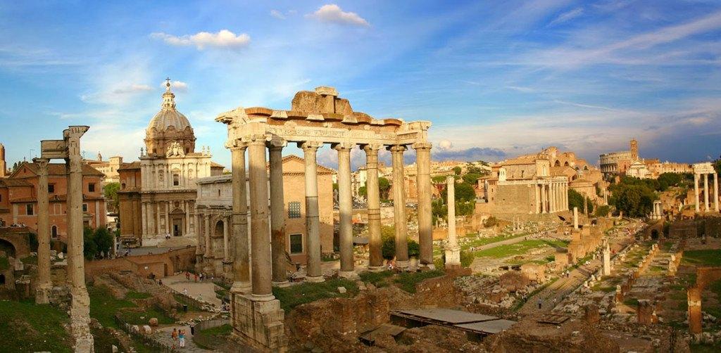 античные развалины