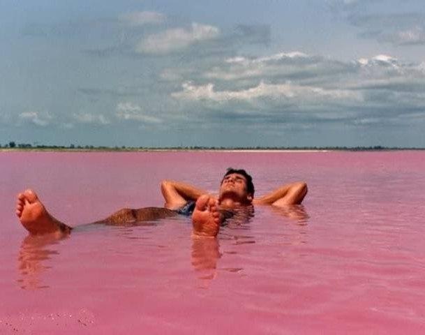купание в озере Хиллер