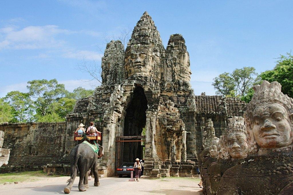 Камбоджа на фото