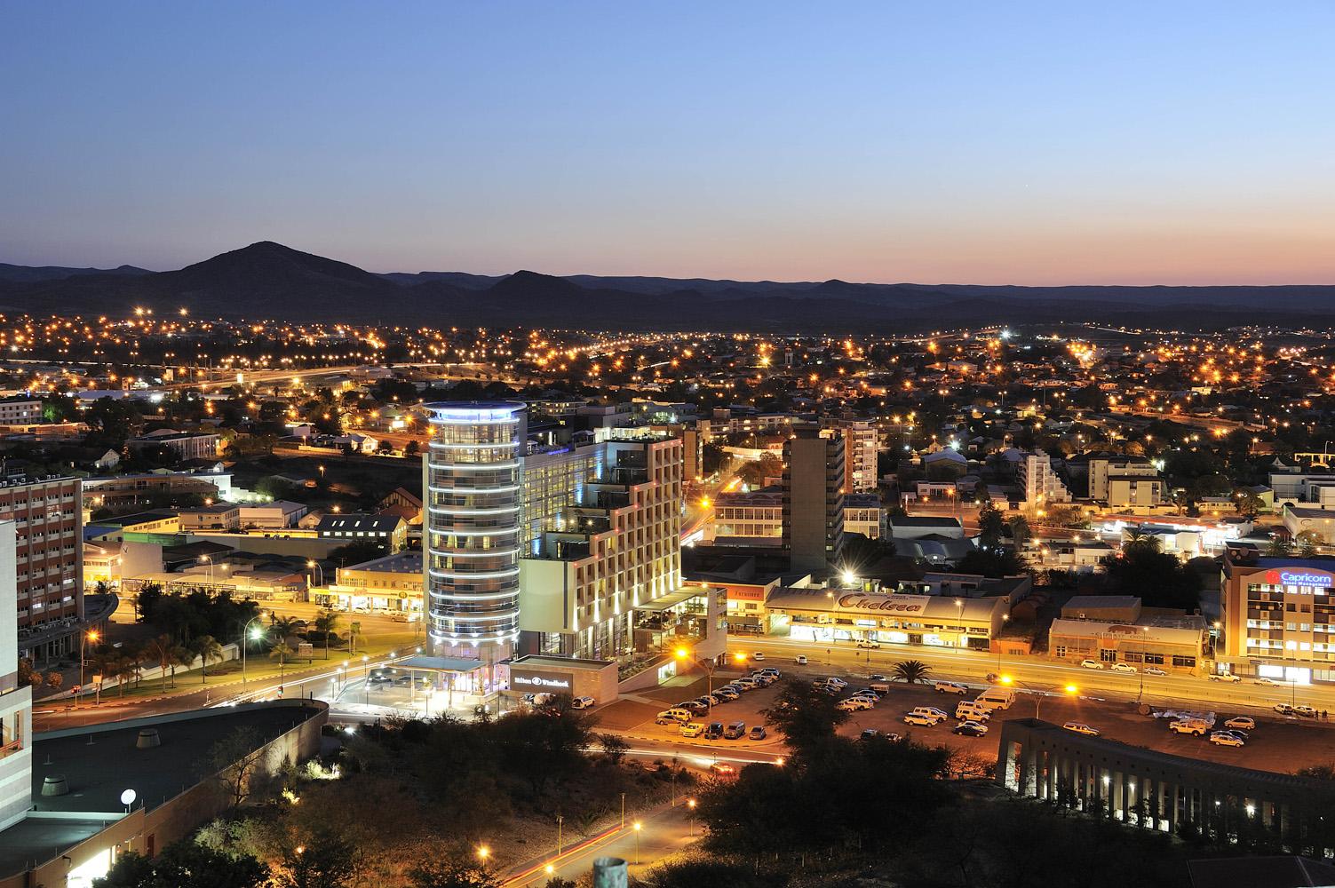 Столица Намибии