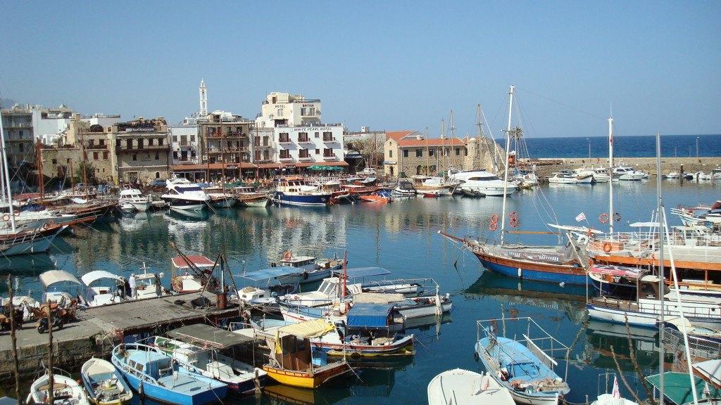 Пристань. Кипр