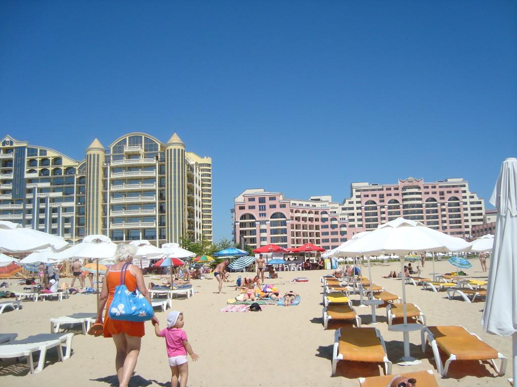 Болгария. Солнечный берег, отели.