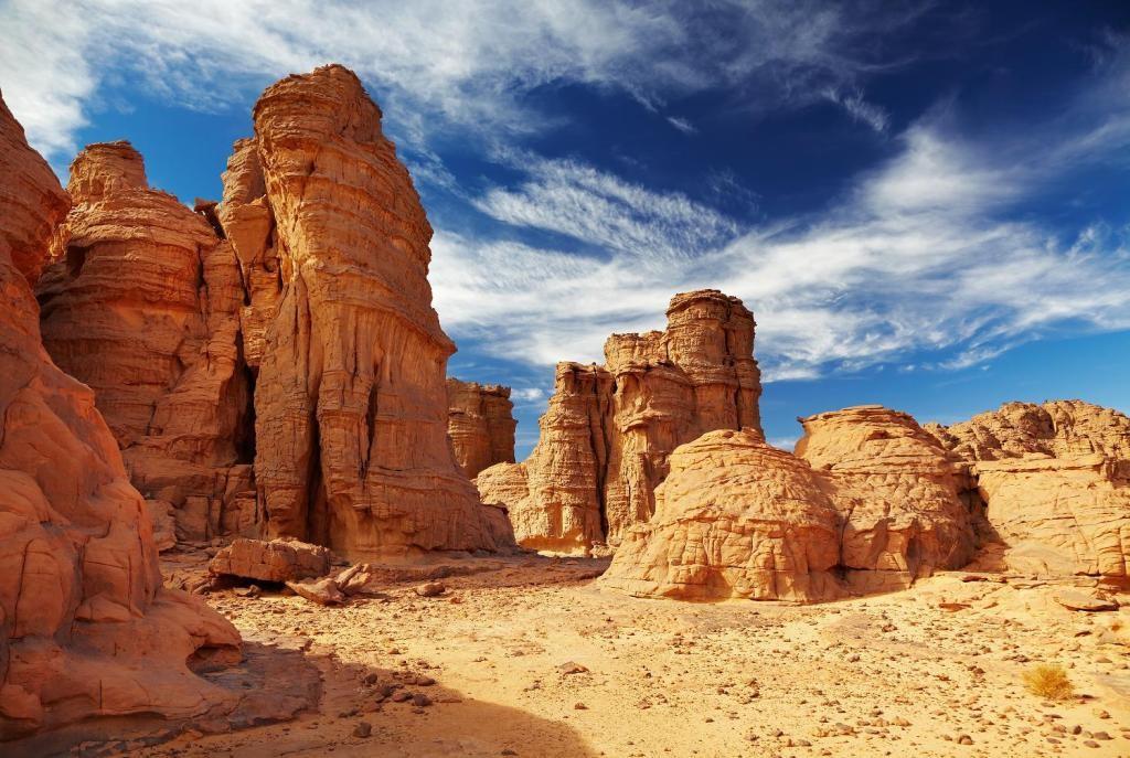 Причудливые_скалы_Алжира
