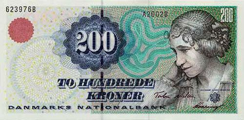 деньги Дании