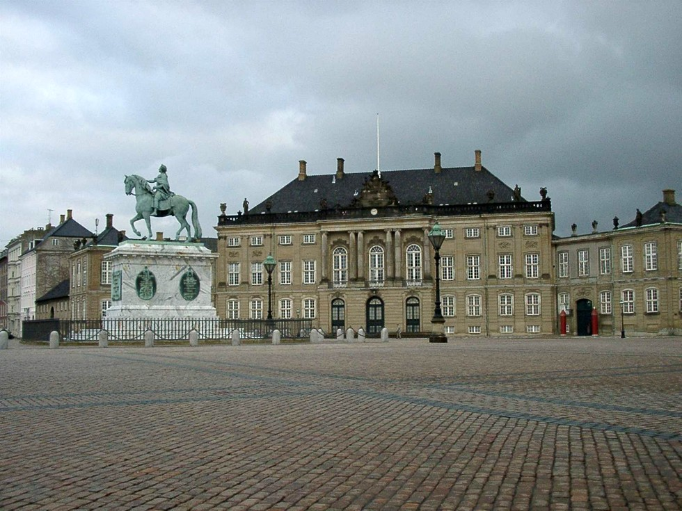 дворц Амалиенборг