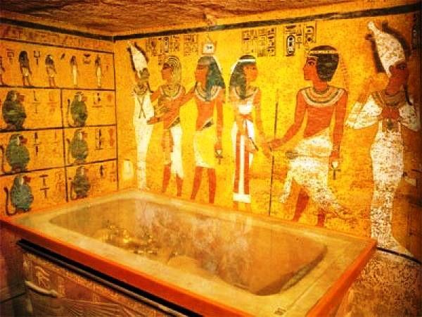 усыпальницы Тутанхамона